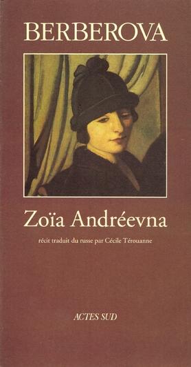 Couverture de Zola andreievna