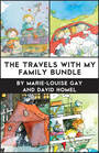 Couverture du livre The Travels with My Family Bundle - HOMEL DAVID - 9781773060514