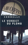 Couverture du livre Verdict du plomb (Le) - CONNELLY MICHAEL - 9782020860901