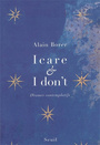Book cover: Icare et I don't - BORER ALAIN - 9782020950244