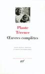 Couverture du livre Oeuvres completes - PLAUTE & TERENCE - 9782070106332