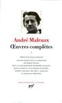 Couverture du livre Oeuvres completes I - MALRAUX ANDRE - 9782070111428