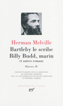 Couverture du livre Oeuvres, Vol. 4 : Bartleby le scribe; Billy Budd, marin... - MELVILLE HERMAN - 9782070118069