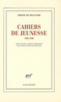 Book cover: Cahiers de jeunesse - BEAUVOIR SIMONE DE - 9782070120420