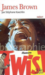 Couverture du livre James Brown - KOECHLIN STEPHANE - 9782070338245