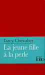 Book cover: Jeune fille à la perle (La) - CHEVALIER TRACY - 9782070359677