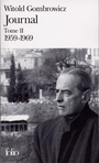 Couverture du livre Journal 2: 1959-1969 - GOMBROWICZ WITOLD - 9782070389315