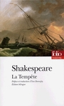 Couverture du livre La tempete - SHAKESPEARE WILLIAM - 9782070403158