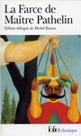 Book cover: La farce de maitre pathelin - ANONYME - 9782070405398