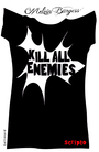 Couverture du livre Kill all enemies - BURGESS MELVIN - 9782070646548