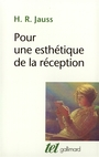 Book cover: Pour une esthetique de la reception - JAUSS HANS ROBERT - 9782070720149