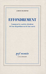 Couverture du livre Effondrement - DIAMOND JARED - 9782070776726