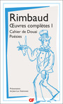 Book cover: Oeuvres complètes 1 - RIMBAUD ARTHUR - 9782081427754