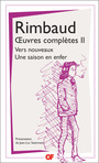 Book cover: Oeuvres complètes 2 - RIMBAUD ARTHUR - 9782081444645