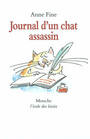 Couverture du livre Journal d'un chat assassin (CD) - FINE ANNE - 9782211093972