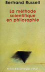 Couverture du livre La methode scientifique en philosophie - RUSSELL BERTRAND - 9782228895293
