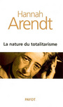 Book cover: La nature du totalitarisme - ARENDT HANNAH - 9782228901284