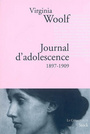 Couverture du livre Journal d'adolescence 1897-1909 - WOOLF VIRGINIA - 9782234060647