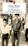 Couverture du livre Disparition de la langue francaise (La) - DJEBAR ASSIA - 9782253116998