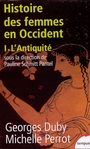 Book cover: Histoire des femmes en occident 1 - DUBY GEORGES & PERROT MICHELLE - 9782262018696