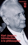 Couverture du livre Introduction à la philosophie (NE) - JASPERS KARL - 9782264034441