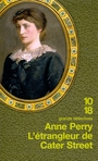 Book cover: Etrangleur De Cater Street -Pitt 1 [num] - PERRY ANNE - 9782264057631