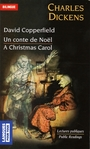 Couverture du livre David copperfield/un conte de noel (bilingue) - DICKENS CHARLES - 9782266160377