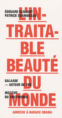 Book cover: Intraitable beauté du monde (L'): adresse à Barack Obama - GLISSANT EDOUARD - 9782351760734