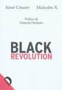 Book cover: Black revolution - Cesaire Aime & Malcolm X - 9782354570354