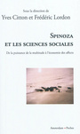 Book cover: Spinoza et les sciences sociales - Citton Yves (Dir.) - 9782354800734