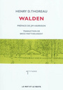 Couverture du livre Walden - THOREAU HENRY DAVID - 9782360540129