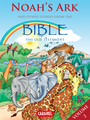 Couverture du livre Noah's Ark and Other Stories From the Bible - Muller Joël - 9782511030875