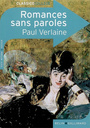 Book cover: Romances sans paroles - VERLAINE PAUL - 9782701148731