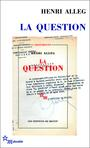 Couverture du livre Question (La) - Alleg Henri - 9782707320629
