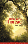 Couverture du livre Journal 1837-1852 - THOREAU HENRY DAVID - 9782715220393