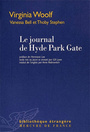Couverture du livre Le journal de hyde park gate (vanessa bell, thoby stephen) - WOOLF VIRGINIA - 9782715226425