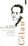 Book cover: La rose en personne (ed. bilingue) - CELAN PAUL - 9782757803967