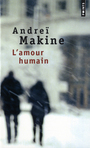 Book cover: L'amour humain - MAKINE ANDREI - 9782757806104