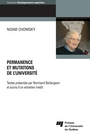 Book cover: Permanence et mutations de l'université - CHOMSKY NOAM - 9782760539426
