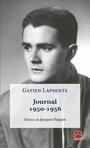 Book cover: Journal, 1950-1956 - LAPOINTE GATIEN - 9782763746388
