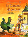 Book cover: Le couteau de cousine : laurie l'intreoppide t.3 - SARFATI SONIA & GOLDSTYN JACQU - 9782764602041