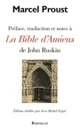Couverture du livre Preface, traduction et notes a la bible d'amiens de john... - PROUST MARCEL - 9782841004034