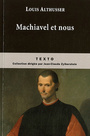 Book cover: Machiavel et nous - ALTHUSSER LOUIS - 9782847345926