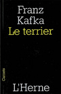 Book cover: Terrier (Le) - KAFKA FRANZ - 9782851978905