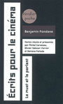 Book cover: Ecrits pour le cinema - FONDANE BENJAMIN - 9782864325185