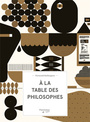 Book cover: À la table des philosophes - BAILLARGEON NORMAND - 9782890777415