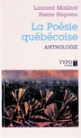 Couverture du livre La poesie quebecoise anthologie - MAILHOT LAURENT & NEPVEU PIERR - 9782892950069