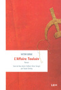 Book cover: Affaire Toulaév (L') - SERGE VICTOR - 9782895961062