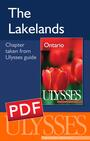 Couverture du livre The Lakelands - Couture Pascale - 9782896655281