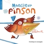 Book cover: Monsieur Pinson (nouvelle orthographe) - Bellebrute - 9782896865864
